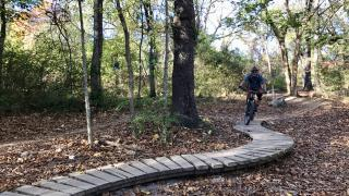 Mountain biking in Northwest Arkansas