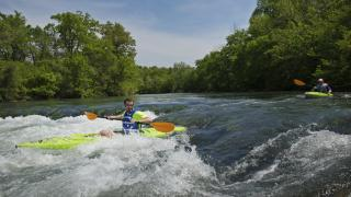 Spring River kayaking