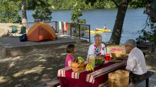 Enjoy family time at Bear Creek Lake near Marianna