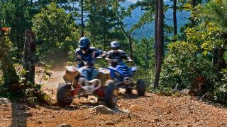 ATV in the Ouachitas