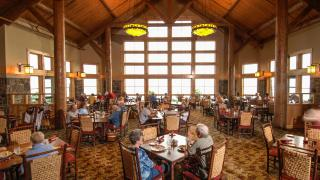Skycrest Restaurant at Mount Magazine State Park