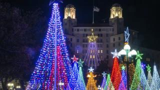 The holidays in Hot Springs