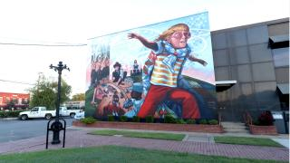 Mural in Conway