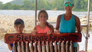 Stetson's Resort Proud Family of Fishermen