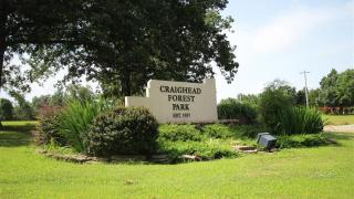Craighead Forest Park in Jonesboro