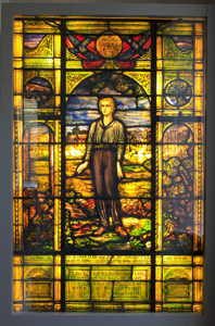 David_O_Dodd_Stained_Glass