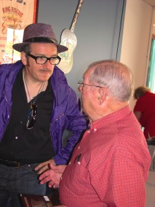 Elvis Costello and Sonny Payne