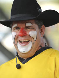 Fort_Smith_OldFortDaysRodeo_Cody Sosebee_rodeo_clown