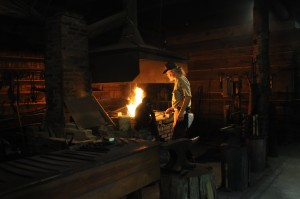 The Blacksmith Shop at Historic Washington State Park. Photo by Z. Clift.
