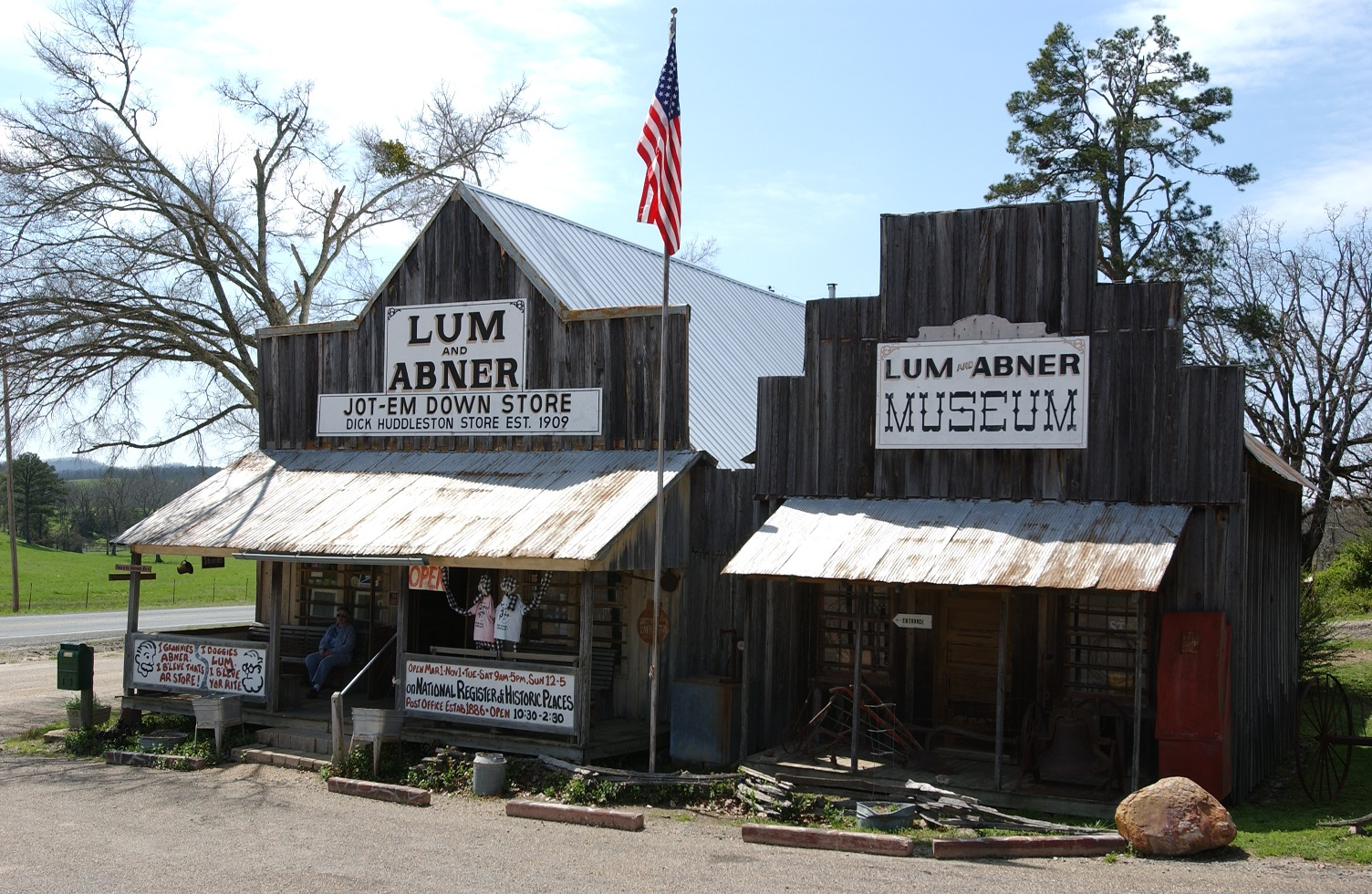 Lum & Abner Jot 'Em Down Store and Museum