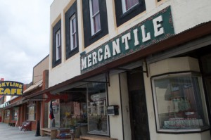 Outside The Mercantile. Photo by Z. Clift