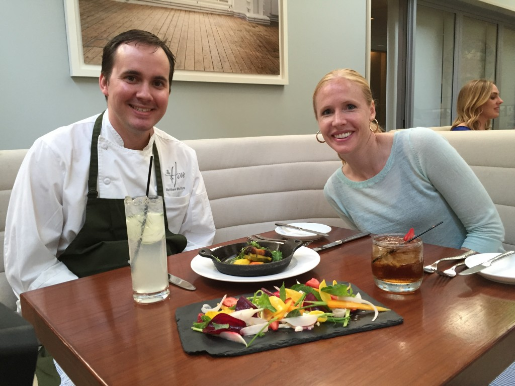 Darley and viewers learn about Arkansas sustainable food movement and High South cuisine with Chef Matthew McClure in the Southern Road Trip episode.