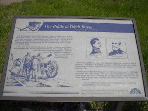 battle of ditch bayou
