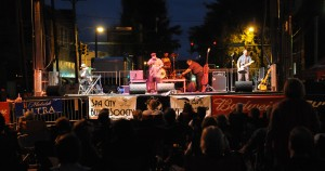Photo of the 2012 Hot Springs Blues Festival. Photo by Z. Clift