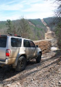 Off-roading at Hot Spring ORV Park. Photo by Z. Clift
