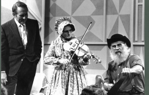 Violet Hensley, center, appearing on The Art Linkletter Show; circa 1970. Photo care of the Encyclopedia of Arkansas History & Culture.